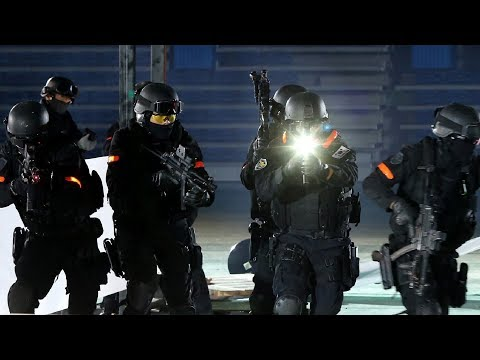 South Korean SWAT team (KNP868) public demonstration