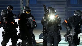 Korean National Police Special Operations Unit (SOU) public demonstration