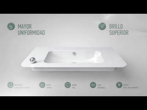 Catalano cataglaze fabrica inodoros bides lavabos platos de ducha y mobiliario de ba o youtube - Fabrica de platos de ducha ...