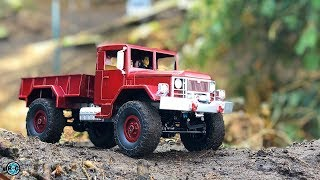 BEST WPL B1 & WPL C14 TUNING RC CRAWLER TRUCKS on TOUR