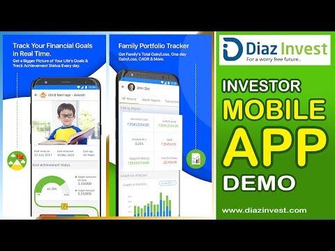 Investor Mobile App Demo dy Diaz Invest