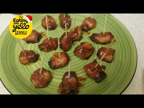 Holiday Recipe ( Bacon Wrapped BBQ Water Chestnuts)