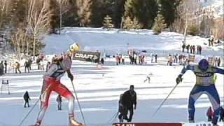 Tour de Ski 2008/2009 Ladies Final Race.