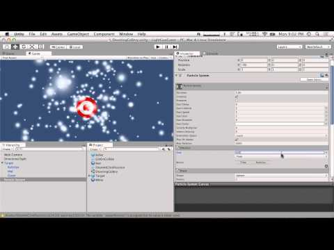 """Cooking With Unity: """"Light Gun"""" Shooting Gallery Game"""