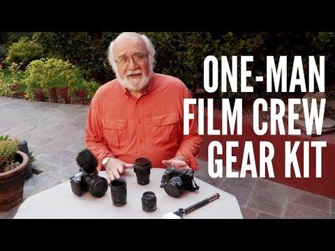 Gear Kit For One Man Documentary Film Crew with Bob Krist