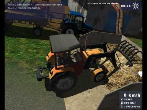 landwirtschafts simulator 2009 ls 2009 akcja obornik youtube. Black Bedroom Furniture Sets. Home Design Ideas