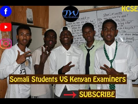 Somali Students VS Kenyan Examiners