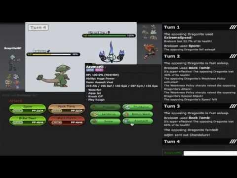Pokemon Showdown OU Tournament SemiFinals vs Edjim
