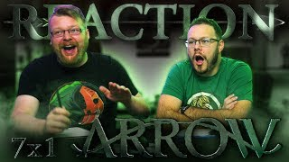 "Arrow 7x1 PREMIERE REACTION!! ""Inmate 4587"""