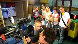 Monsif interview voor Kidz-AID. met o.a. Ralf / Keet! / Kidz-DJ/ Mano/ Bobbie en Xmix