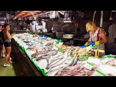 La Boqueria Barcelona - Spanish Fish/ Seafood Market
