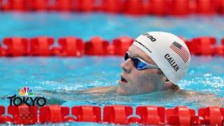 U.S. men punch their ticket to 4x200 free relay final | Tokyo Olympics | NBC Sports