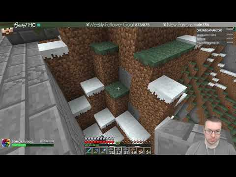 Basket Castle Gatehouse - Team B.S. Minecraft Server with BasketMC - Ep67