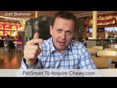 PetSmart to buy chewy.com