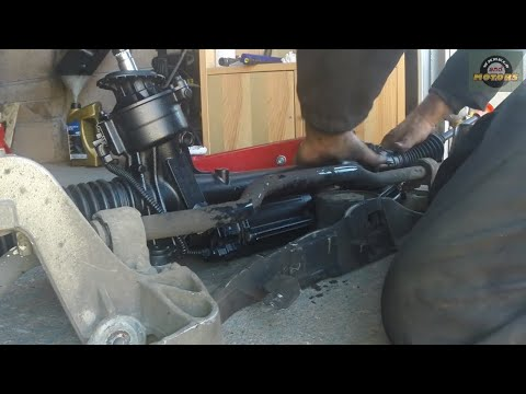How to replace electric power steering rack – VW, Seat, Skoda, Audi