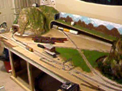 Ho Scale 4x10 Layout Dtdt Mcc Part 3 Youtube