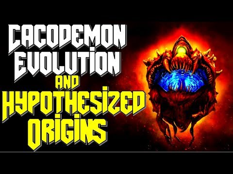 The Cacodemon Morphological Evolution Explanation | How Did They Evolve? | Doom 2016 Eternal Lore