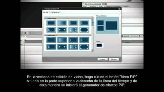 Tutorial Nero Vision 10 Xtra PiP Subtitulado Español