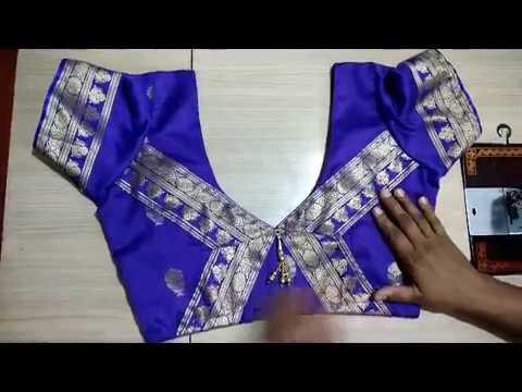 Best Paithani Blouse Design For Weedings In Marathi Youtube