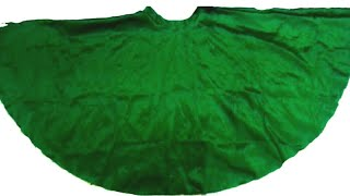 Full Gher Umbrella Lehenga Cutting and Stitching / VANSHIKA FASHION