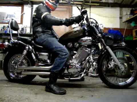 yamaha virago 535 in action youtube. Black Bedroom Furniture Sets. Home Design Ideas