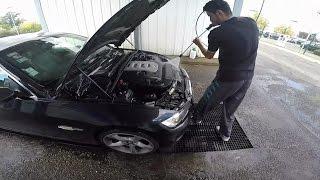 Laver son moteur au karcher BMW 330d e92