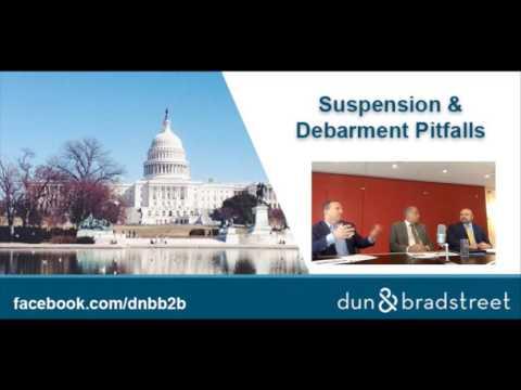 Dun & Bradstreet - B2B: Suspension & Disbarment Pitfalls