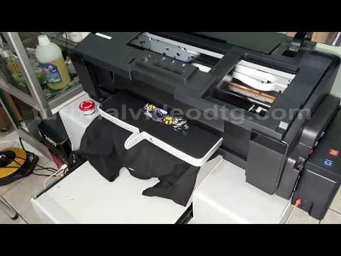 DIY DTG Epson L1800 complete plans