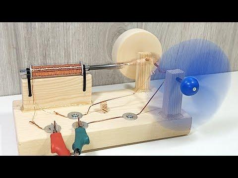 Как сделать настоящий соленоидный двигатель своими руками?