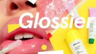 Glossier. Full Face Review + Haul! | by tashaleelyn