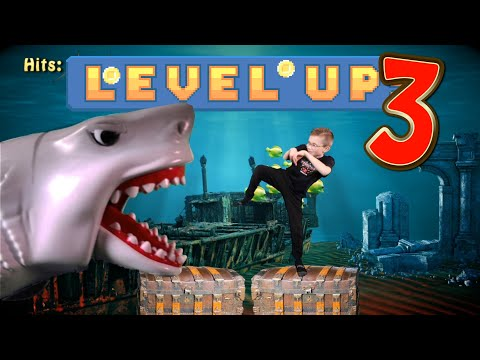 Level Up 3! (Video Game Workout For Kids)