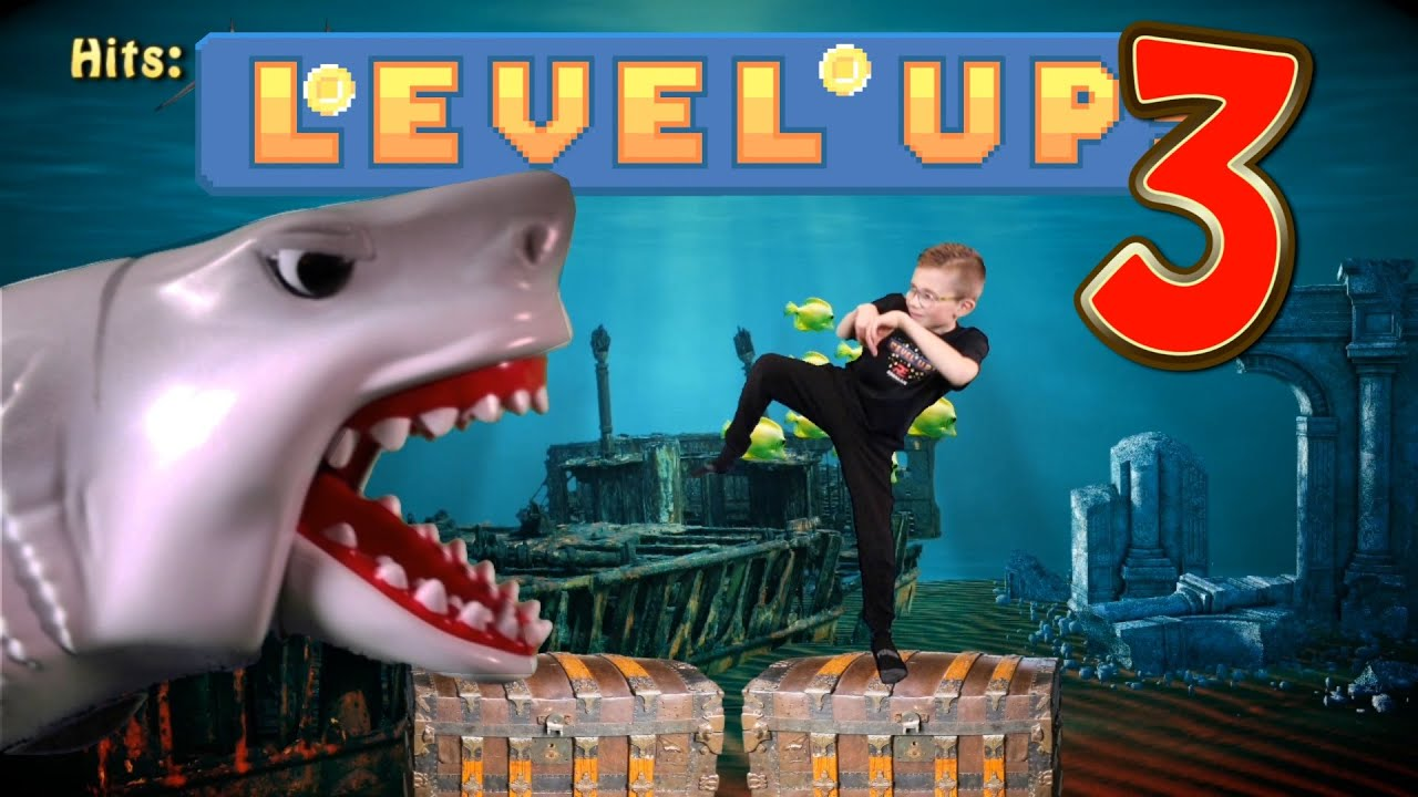 Download Level Up 3! (Video Game Workout For Kids)