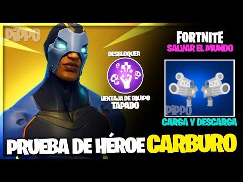 SOLDADO CARBURO - PRUEBA DE HÉROE - FORTNITE SALVAR EL MUNDO