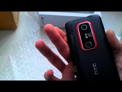 посылки из Китая AliExpress HTC EVO 3D
