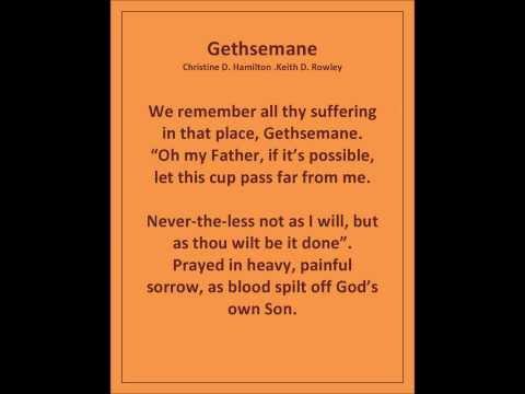 Gethsemane  final for youtube