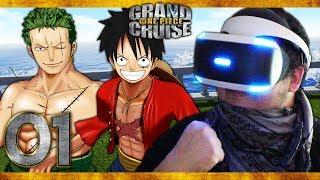 EIN NEUES STROHHUT MITGLIED?! ☠️ #01 • LET'S PLAY | One Piece: Grand Cruise VR