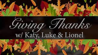 Happy Thanksgiving from Katy Perry, Luke Bryan and Lionel Richie - American Idol