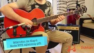 Gretsch G5022CE Rancher Jumbo Cutaway - Elektro Akustik Gitar İncelemesi (Hızlı Video)