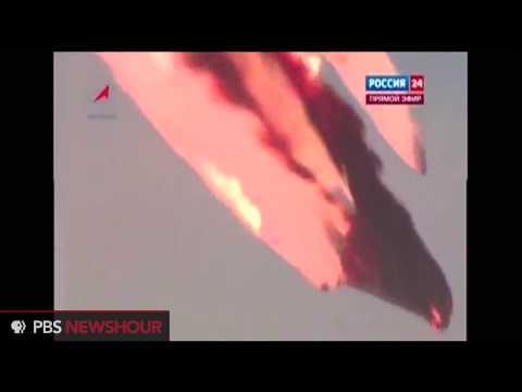 Watch a Russian Proton Rocket Explode in Kazakhstan
