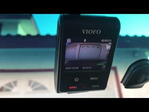 Viofo a119 v2 Dashcam Review and How To use