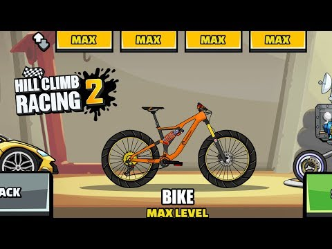 Hill Climb Racing 2 - NEW BIKE Downhill 😍 (Create Car)