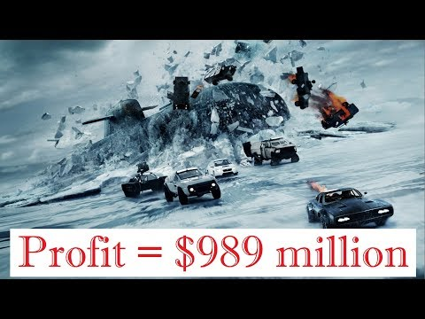 The Fate of the Furious (2017) Profit : $989 million