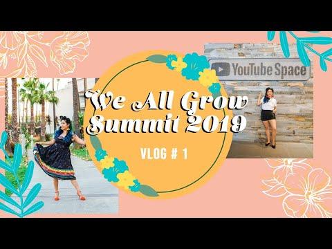 Visiting YouTube Space LA & WAG Fiesta | We All Grow Summit 2019