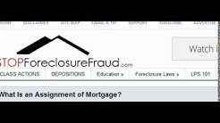 WHAT IS AN ASSIGNMENT OF MORTGAGE?