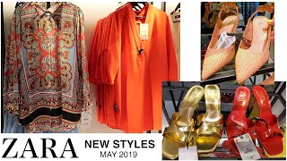 ZARA NEW STYLES LADIES COLLECTIONS  MAY 2019