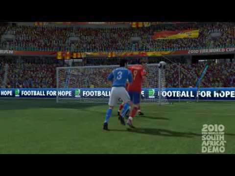 FIFA WORLD CUP 2010 DEMO GOAL