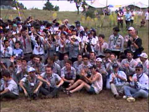Türk İzciliği'nin 90.yılı anısına Ankara Mahalli kampı,7-14 Temmuz 2002 KARABÜK part1