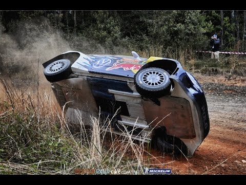 Highlights (Ogier World Champion) - 2015 WRC Rally Australia - Best-of-RallyLive.com