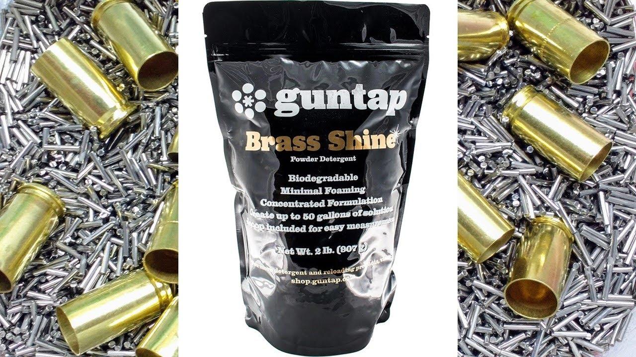 Wet Tumbling with guntap Brass Shine Powdered Detergent
