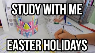 STUDY WITH ME: EASTER HOLIDAYS EDITION| Floral Sophia